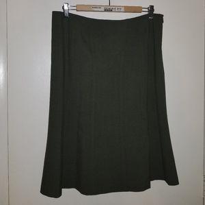 Amanda Smith Olive Green Skirt
